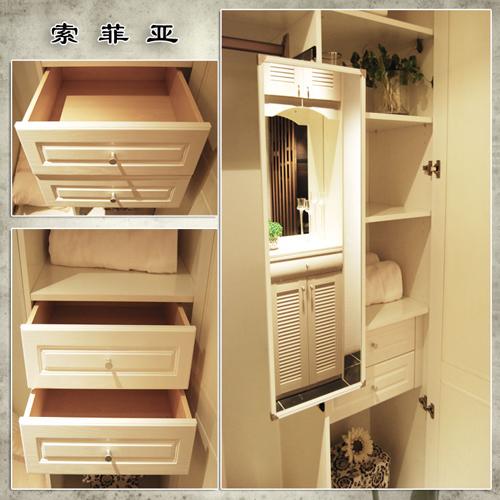 索菲亚 板式家具 衣柜 简约风格 定制家具 广州生产图片