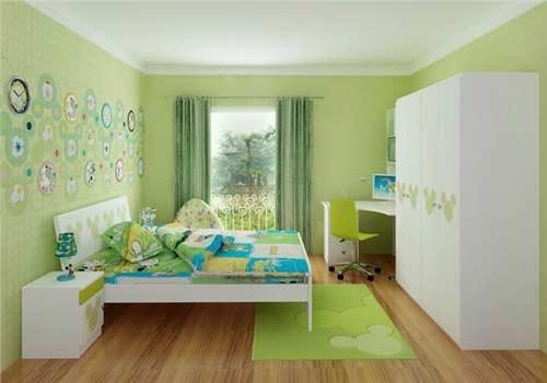 儿童房样板间装修案例欣赏