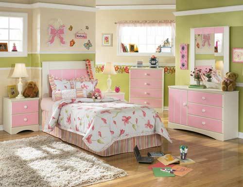 适合女生的儿童房间布置