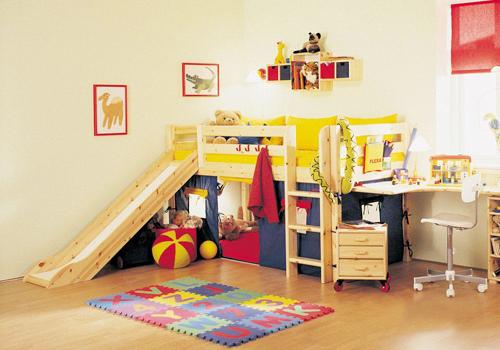 倍受孩子喜欢的儿童家具设计风格