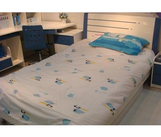 可爱多儿童家具-床-单人床-可爱多家具;