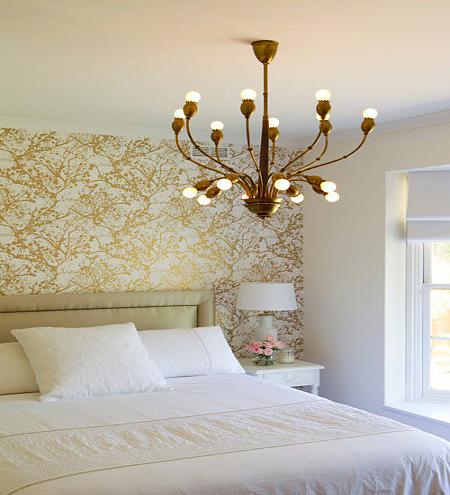 国外卧室墙纸装修效果图欣赏 带你享受十足的设计感