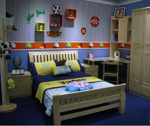 松堡王国松木儿童家具第一品牌