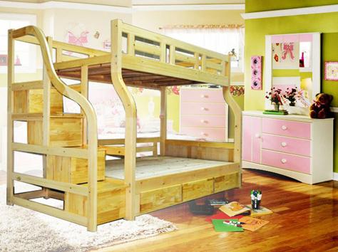 儿童卧室家具选购 给孩子多一份欢乐