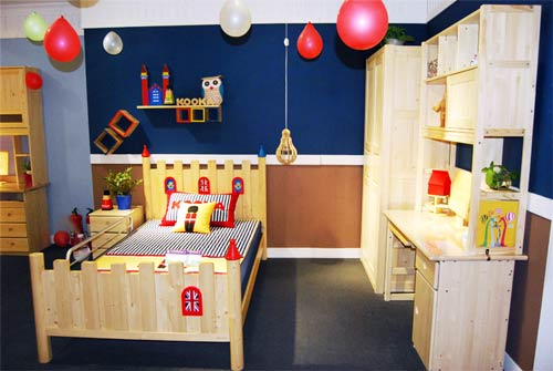 松果实木儿童家具蓝景丽家店