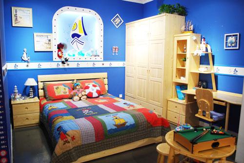 松堡王国儿童家具蓝景丽家店