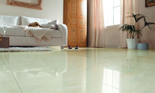 专业选购地板砖 打造美丽客厅