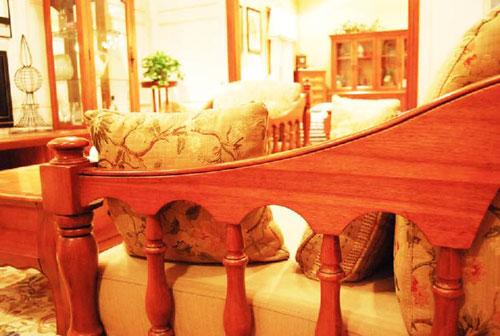 迦南橄榄树301-s沙发木质框架由俄罗斯进口的楸