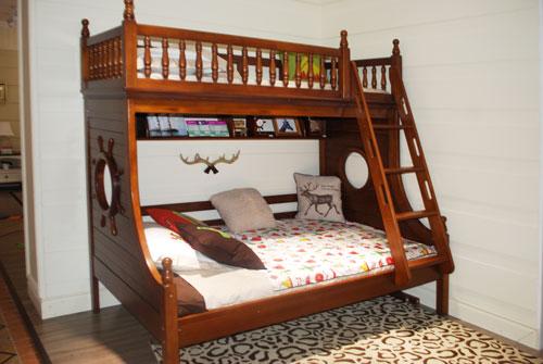 至白小屋儿童家具蓝景丽家店装修美式田园风格