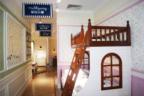 至白小屋儿童家具蓝景丽家店