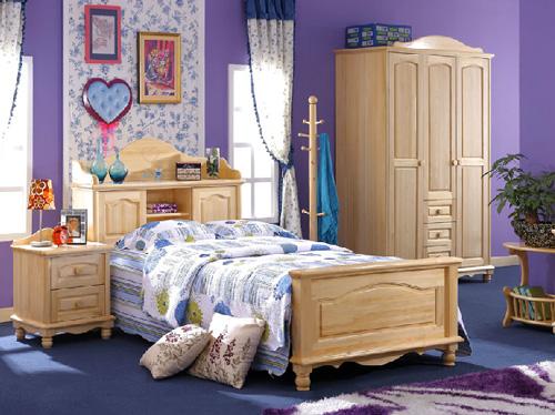 松堡王国 专业青少年儿童松木家具