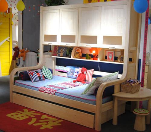松果 儿童家具 儿童床
