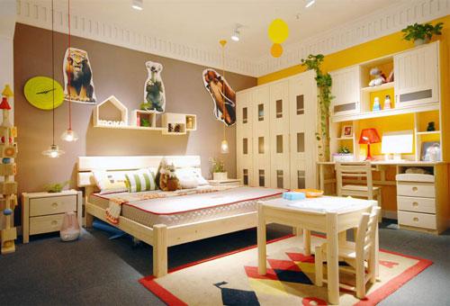 松果儿童家具 打造环保自然的纯净空间