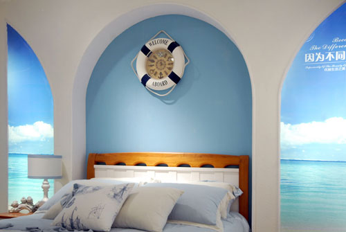 儿童房间海洋沙滩系