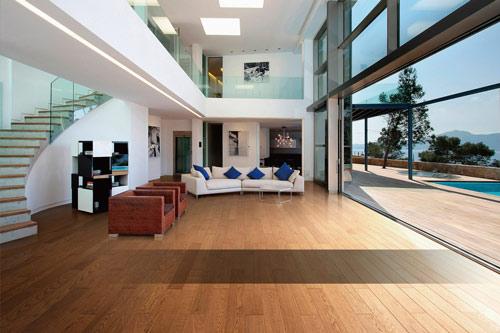 """德尔教你装修房子如何搭配地板家具才能""""非常完美"""""""