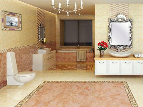 卫生间瓷砖颜色搭配要点