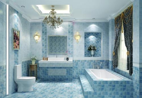 浴缸装修效果图toto
