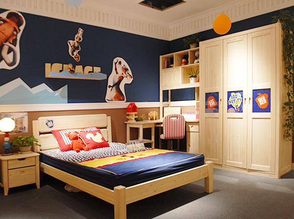 松果实木儿童家具 开学季打造健康卧室