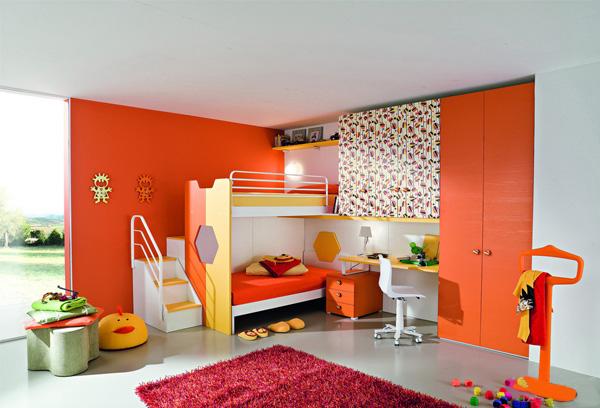 儿童房设计效果图 打造温馨儿童家居-蓝景商城