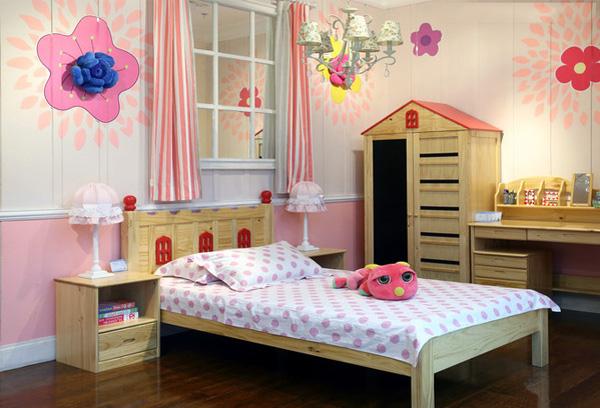 儿童房设计效果图 打造温馨儿童家居