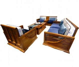 国安佳美,沙发,新中式