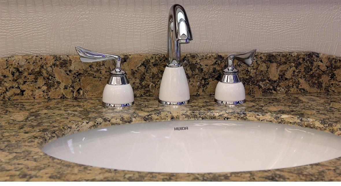惠达卫浴 面盆龙头 全铜结构浴室龙头