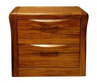 天坛家具,床头柜,乌金木