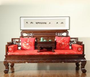 名匠木坊,罗汉床,书房