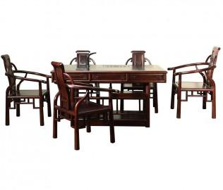 名匠木坊,茶餐桌,榆木