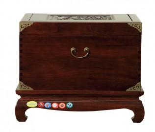 名匠木坊,小樟木箱,中式