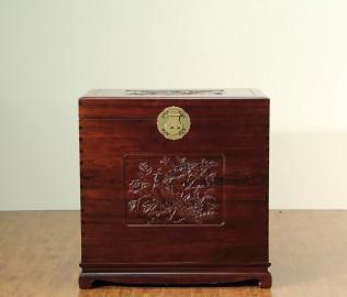 名匠木坊,大樟木箱,中式