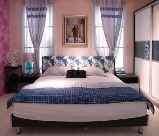 绿芝岛,床体,板式家具