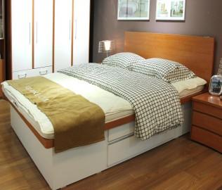 红苹果,箱体床,床