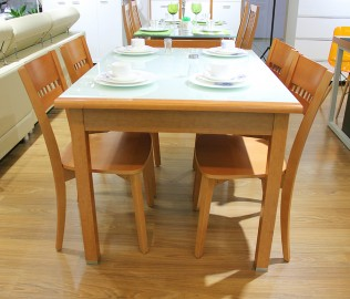 红苹果,现代简约,餐椅