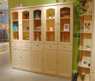 松堡王国,三门书柜,儿童家具