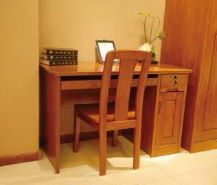 光明家具,书桌,实木家具