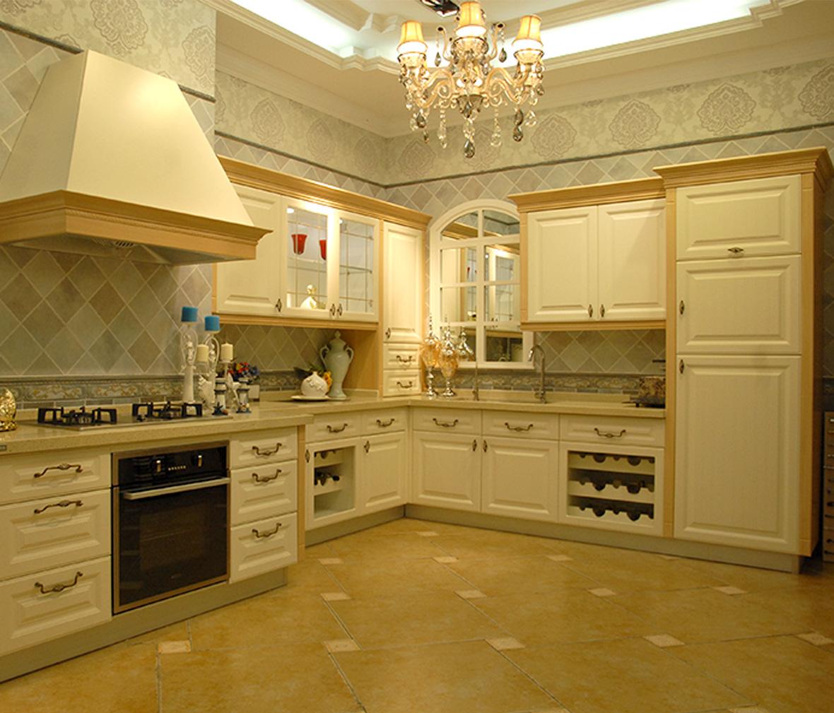 欧式皇家古典厨房