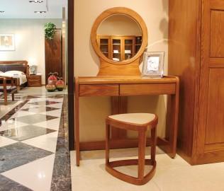 光明家具,梳妆台,实木家具