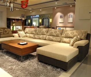 耐特利尔,现代简约,布艺沙发