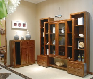 光明家具,书柜,实木家具