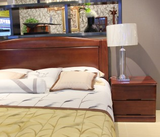 天坛,床头柜,实木家具