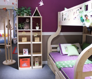 松果,儿童家具,书柜