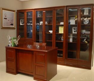 天坛,三门书柜,实木家具