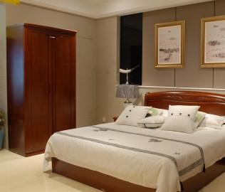 天坛,二门衣柜,实木家具