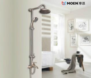 摩恩,卫浴,淋浴杆