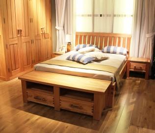 北欧艺家,卧室柜,榫卯结构