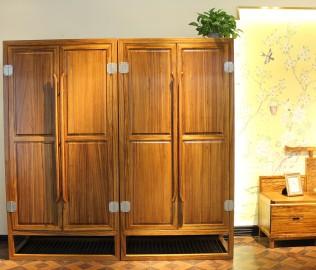四门衣柜,国安佳美,实木家具