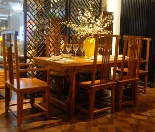 餐桌,国安佳美,实木家具
