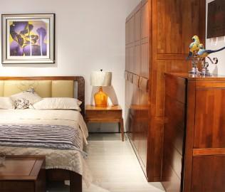 联邦家居,床头柜,胡桃楸木