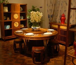 鼓凳,国安佳美,实木家具
